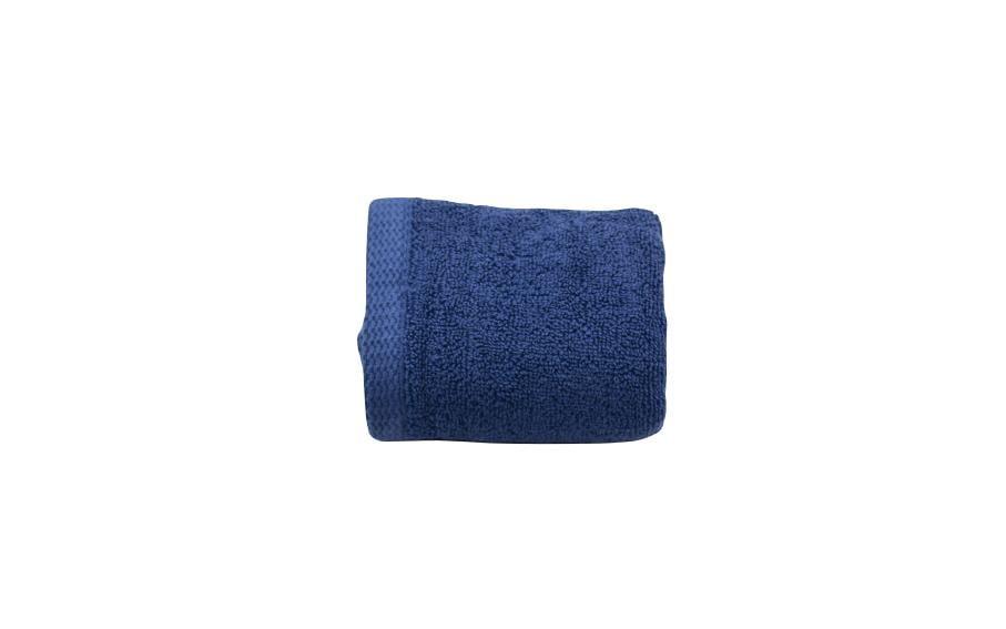 Set 2 prosoape maini bumbac 100%, 600gsm, Somnart, 30x50cm, bleumarin