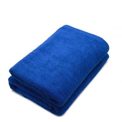 Set 2 prosoape de corp bumbac 100%, 600gsm, Somnart, 70x140cm, albastru