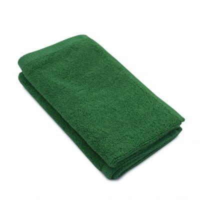 Set 2 prosoape maini bumbac 100%, 600gsm, Somnart, 30x50cm, verde