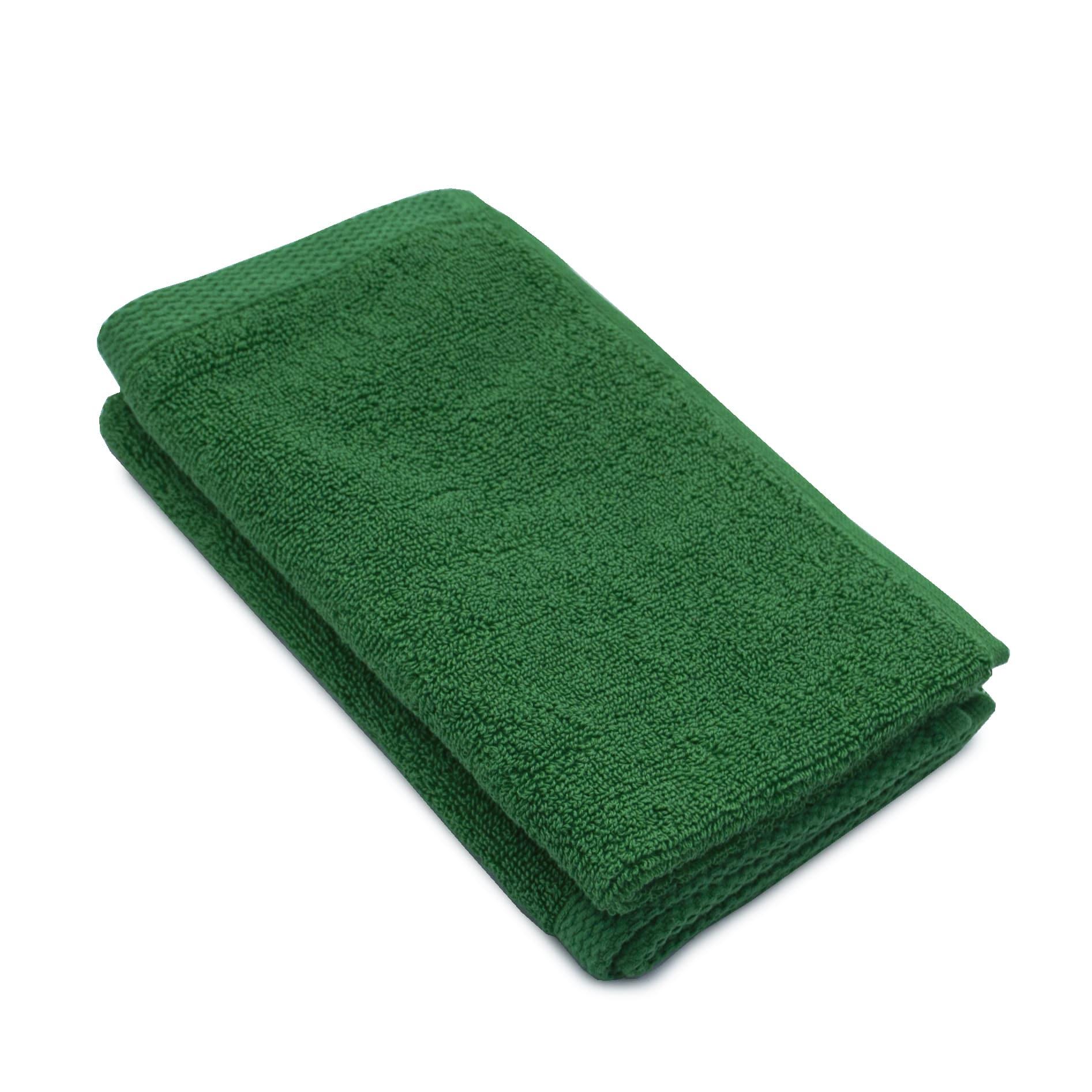 Set 2 prosoape maini bumbac 100%, 600gsm, Somnart, 30x50cm, verde poza somnart.ro