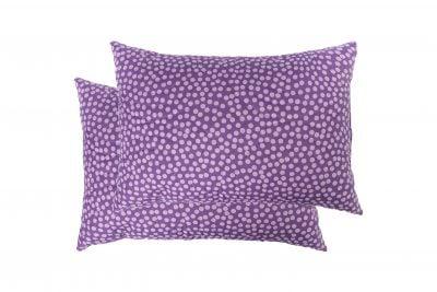Set 2 perne Somnart Purple Vibe, 50×70 cm, microfibra
