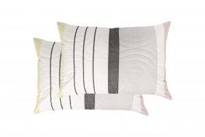Set 2 perne Somnart Stripes, 50×70 cm, microfibra