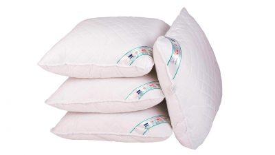 Set 4 perne medicinale hipoalergice Somnart® HypoallergenicMed™, lavabile la 95°C – 70×70