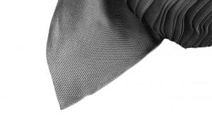 Tesatura poliester spacer 3D, 315g/mp, latime 230cm, negru