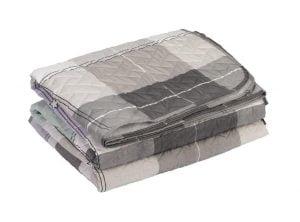 Cuvertura matlasata Somnart Checkered, 210×240 cm, microfibra
