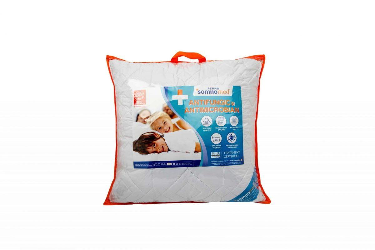 Perna Somnomed Antimicrobiana si Antifungica lavabila la 95°C – 40 x 40 cm, vidata